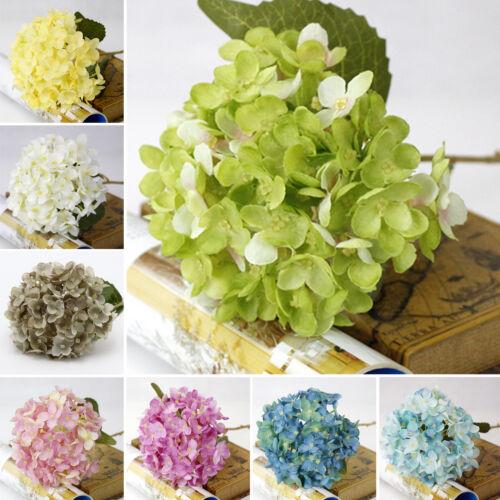 Meglio Finto Seta Artificiale Floreale Bouquet Di Fiori Hydrangea