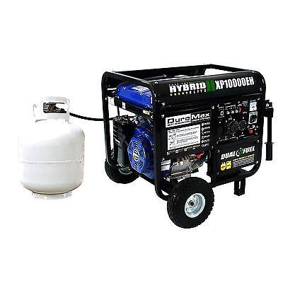 Купить DUROMAX - DuroMax 10000 Watt Hybrid Dual Fuel Portable Gas Propane Generator - RV Standby