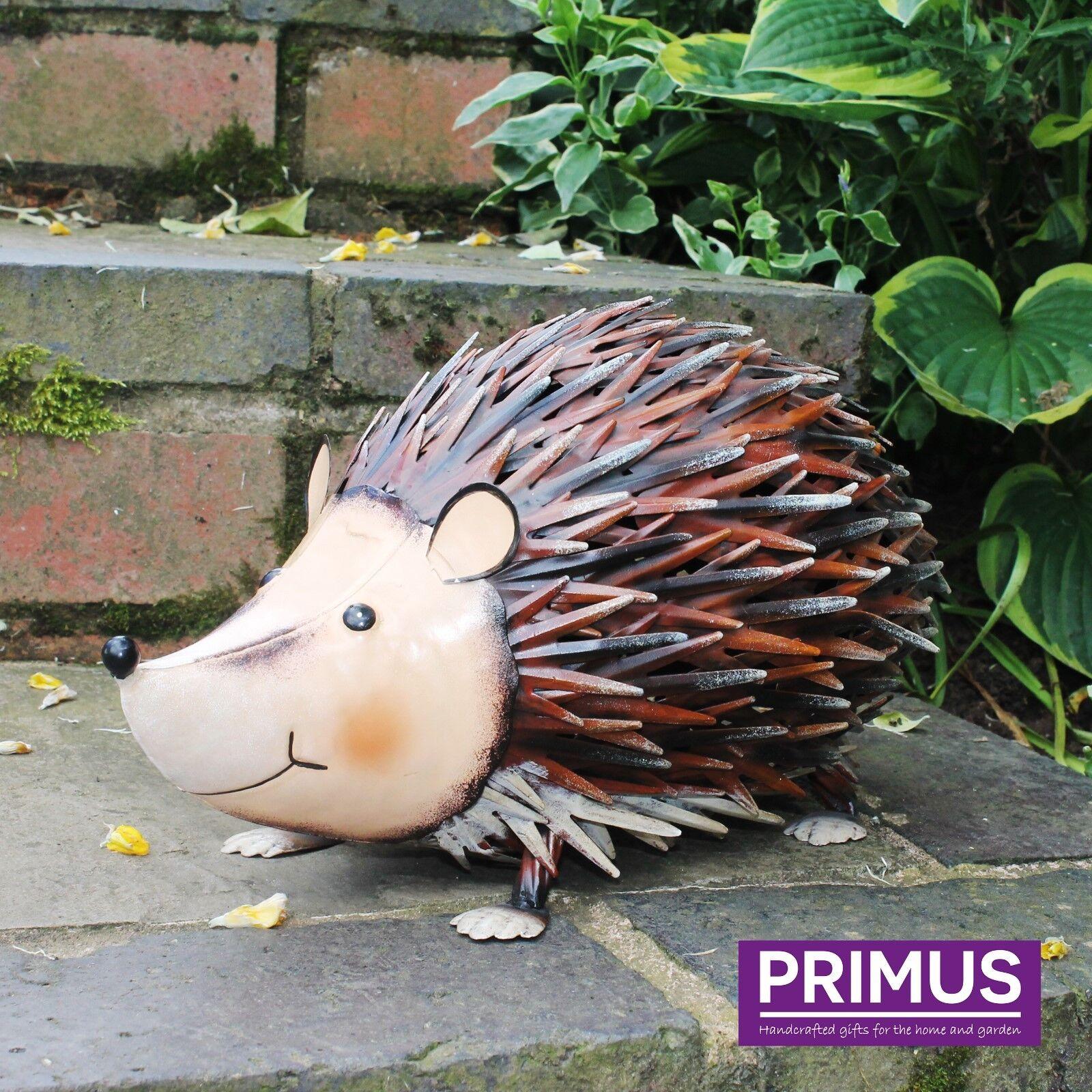 Primus Hand Crafted Rural Metal Tortoise Garden Ornament Animal Sculpture Gift