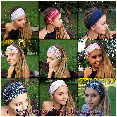 Dreadlock Accessories Gypsy Hippie Headband Tribal Head Scarf Turban Headwrap ](Gypsy Accessories)