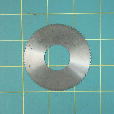 1one Slitting Slotting Saw Blade 0.0125 X 2-58 Hss Machinist Cutting Tool
