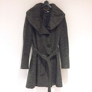 Ellen Tracy - Moss Green wool coat