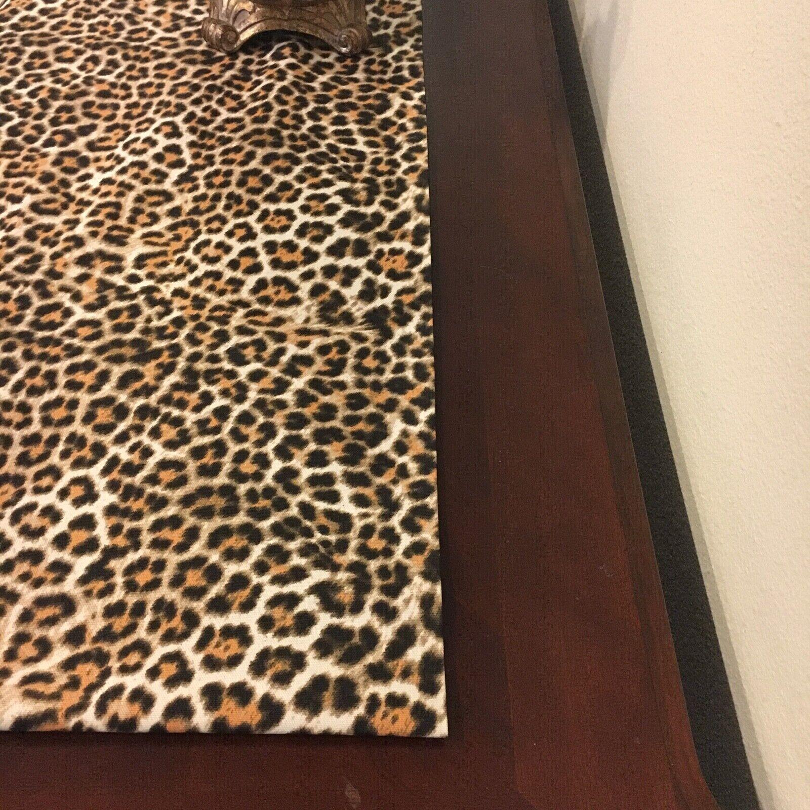 Leopard animal print Table Runner. Table decor animal print.