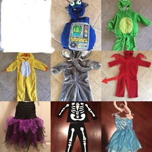 Multiple Halloween costumes / dress up costumes