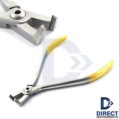 Dental Tc Distal End Cutter Safety Hold Wire Pin And Ligature Orthodontic Pliers