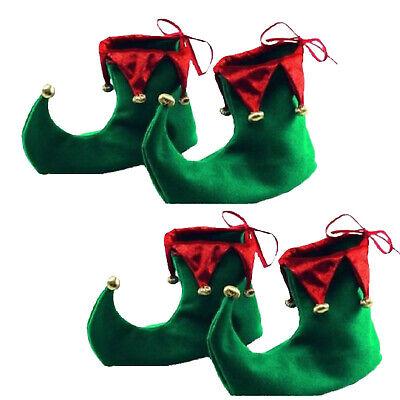 2 paar Elfenschuhe Elfenhut Schuhe Wichtel Wichtelschuhe - 2 Paar Kostüme