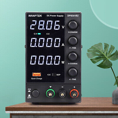 30v10a Adjustable Switch Dc Power Supply 4 Digits 110v Led Display Dps3010u