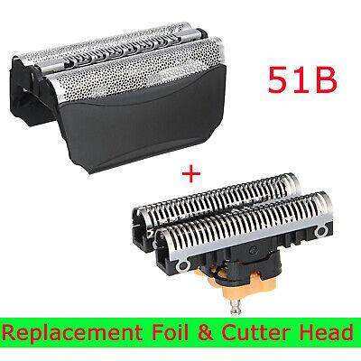 Shaver Foil & Cutter Set Head for BRAUN 51B 8000 Series 5 530 550 8585 8985 -
