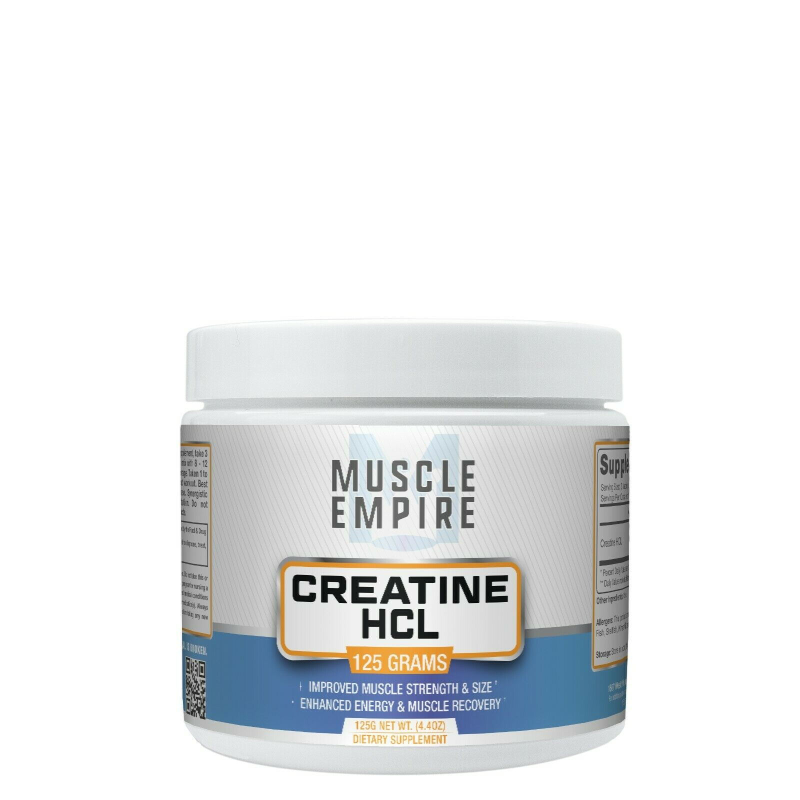 Creatine HCl Powder Muscle Empire