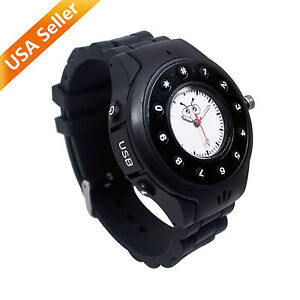 Kids Wrist Watch Cellphone Safety GPS Tracker  Bluetooth GPS Mobile Phone Black
