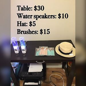 Table and Water Speakers
