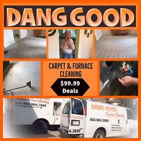$99.99 Carpet Cleaning & $99.99 Furnace Cleaning 403-984-3680