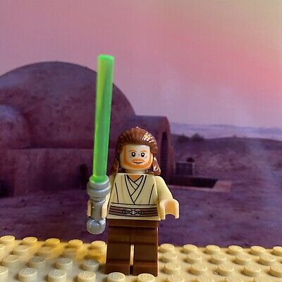Star Wars Qui-Gon Jinn Compatible Custom Lego Mini Figure Jedi SW0410