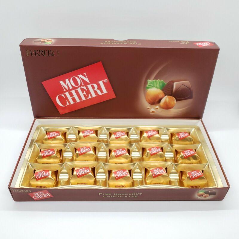 2 Pack Chocolates Ferrero Mon Cheri Box 30 pcs exp 06/01/2021 Hazelnut milk