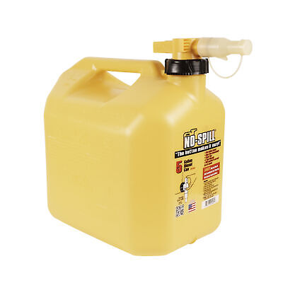No-spill 1457 No-spill Diesel Fuel Can 5 Gallons