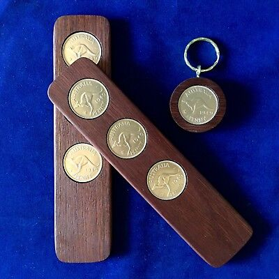 70th Birthday Games (70th Birthday Gift Present w/ 1949 Jarrah Two-Up Game & Penny Keyring Gift Pack)