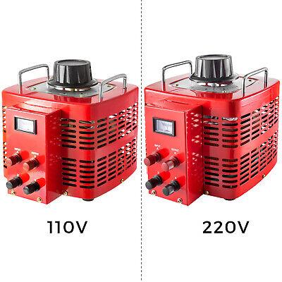 110v Variable Transformer 5000w Ac Voltage 0-230v Compact 60hz Copper Coil