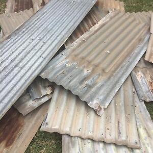 Free old Galvanized iron / tin Birkenhead Port Adelaide Area Preview