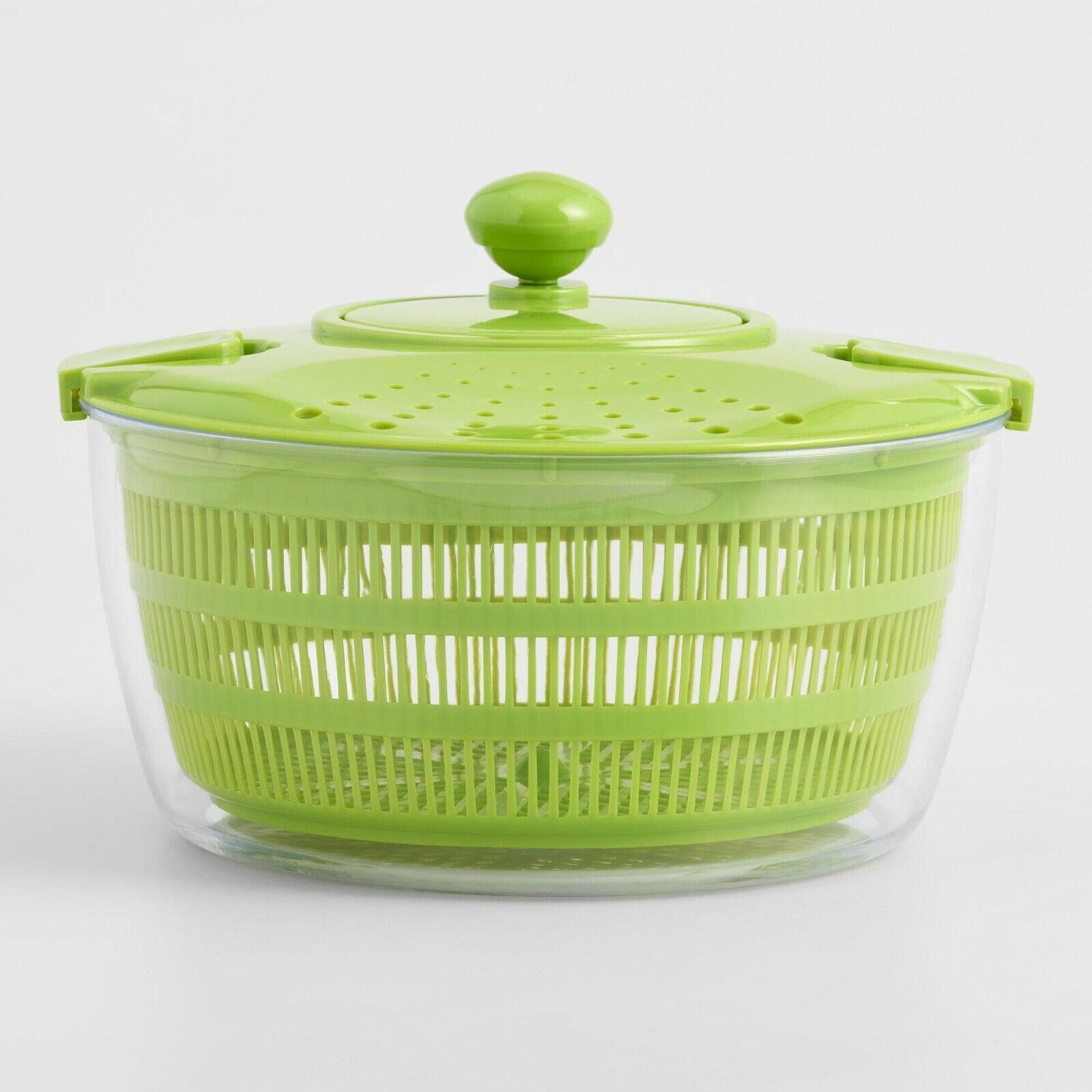 Salad Spinner 3.5-liter Capacity  Leaf Dryer Lettuce Veg Dra