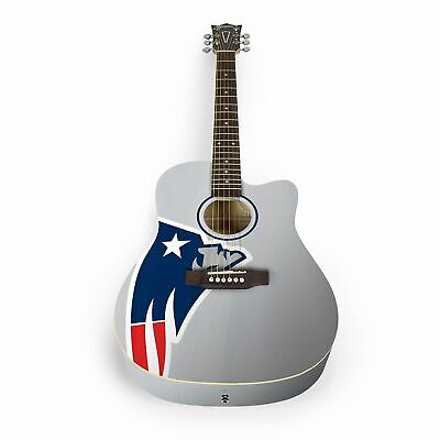 Woodrow New England Patriots Acoustic Guitar with Gigbag - ACNFL19
