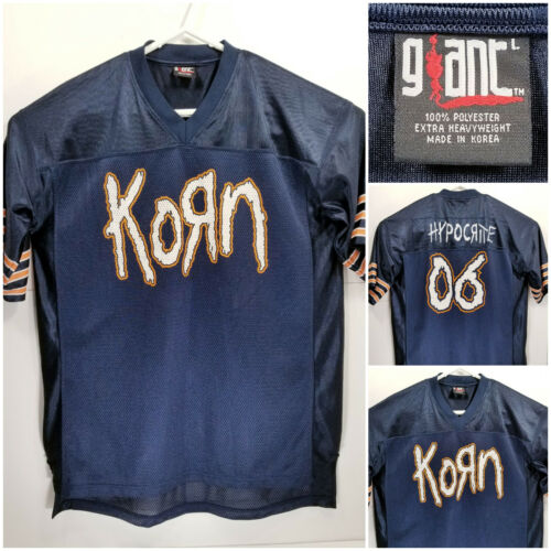Korn Hypocrite Large Football Jersey 2006 Tour by Giant