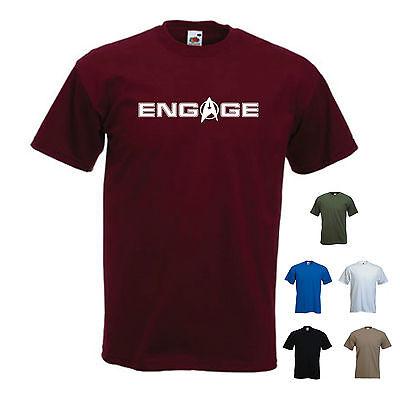 'Engage'  Captain Jean-Luc Picard / Star Trek Next Generation / T-shirt / Tee ()