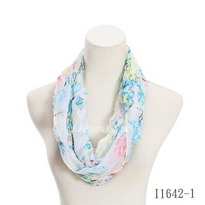 new style, colorful,light weigh, soft, women circle loop infinity scarf.