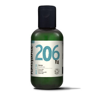 Naissance Hemp Seed Oil 100% Pure Virgin Cold-Pressed Certified Organic 100ml