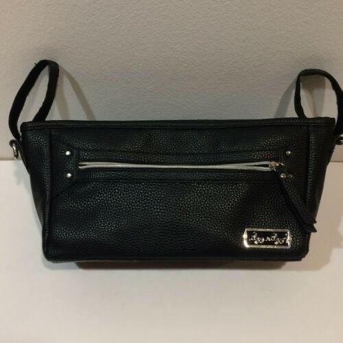 Itzy Ritzy Stroller Organizer Bag Black Adjustable Stroller Caddy