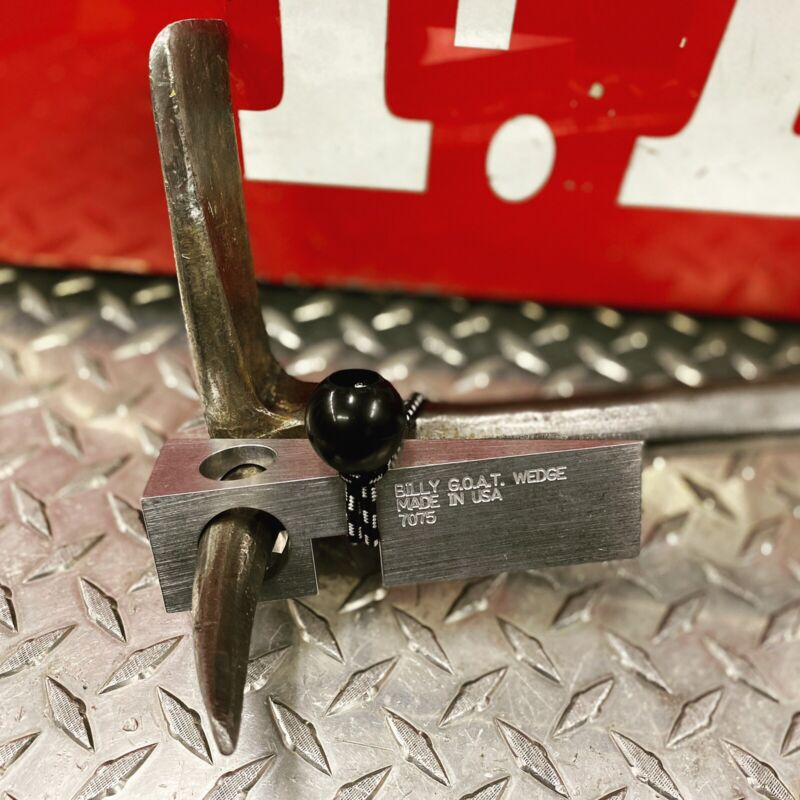 The Billy G.O.A.T. Wedge 7075-Strongest Firefighter Forcible Entry Wedge