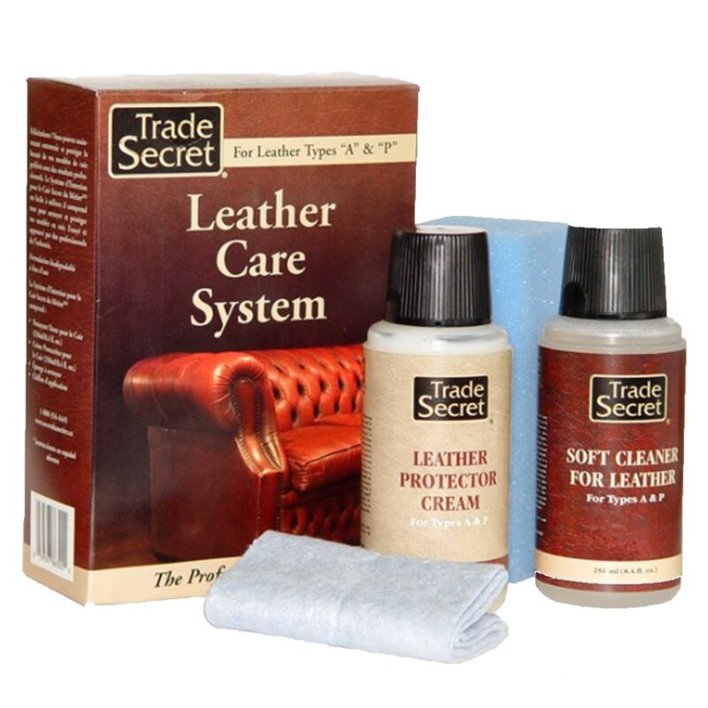 Trade Secret Leather Care System