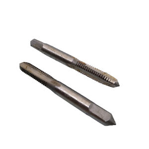 US Stock HSS 6mm x 1 Metric Taper and Plug Tap Right Hand Thread M6 x 1mm Pitch