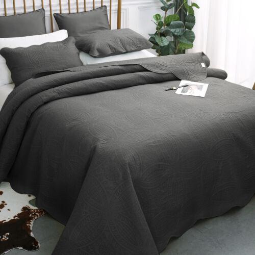 50% OFF - Luxury Bedspread Coverlet Set Oversized Microfiber