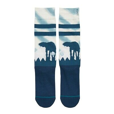 Stance X Star Wars Hoth Crew Socks Men's Size Large 9-12