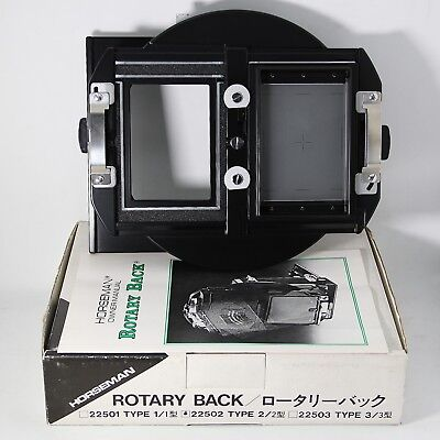 Horseman Rotary Back Type 2 22502 [UnUsed]  For Linhof Wista