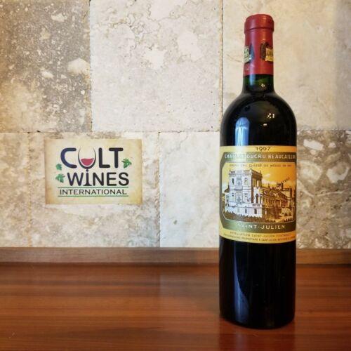 1997 Chateau Ducru Beaucaillou Bordeaux wine, St. Julien