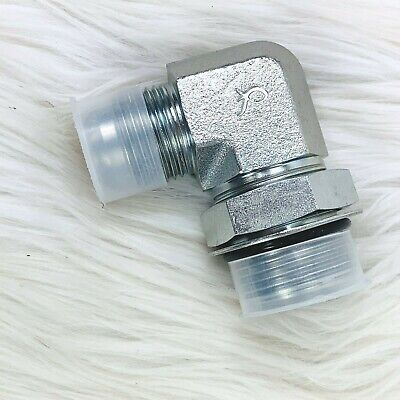 New Parker Electrical Fitting Sma-16 Elbow 1-516 Sma-12 O Ring 1-116