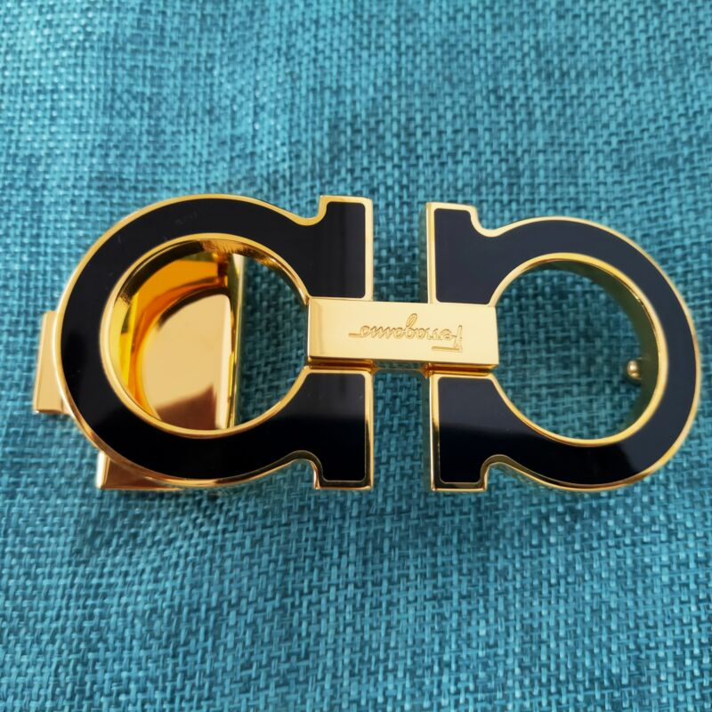 Authentic Ceintures Salvatore Ferragamo Belt Buckle 35 mm