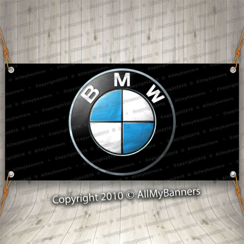 BMW Banner Flag  Ft Logo Car Show Garage Wall M Coupe Roadster M Power c bnd2