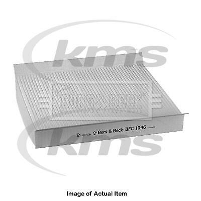 New Genuine BORG & BECK Pollen Cabin Interior Air Filter BFC1046 Top Quality 2yr