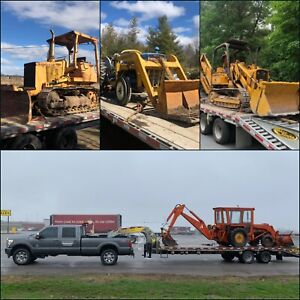 Equipment Transport Backhoes Tractors Dozers