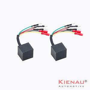 2 x Renault Megane Scenic Temic Replacement Electric Window Motor Module Kit