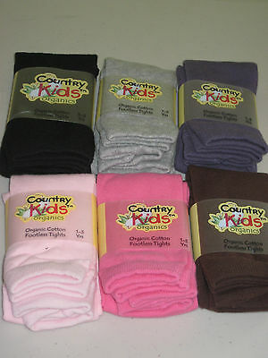 COUNTRY KIDS Organic Cotton Footless Ankle Tights Girls 1 to 11 years Warm Cozy