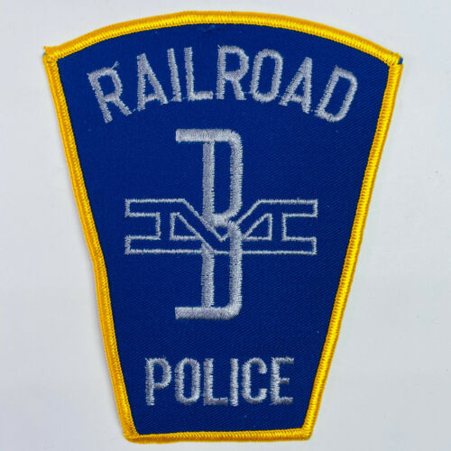Boston And Maine Railroad B&M Police Massachusetts MA Train Railway Patch (A4)