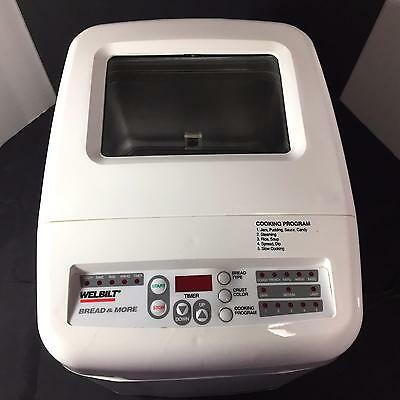 Welbilt ABM7100 Bread Machine and Multicooker Bread and More Steamer Slow