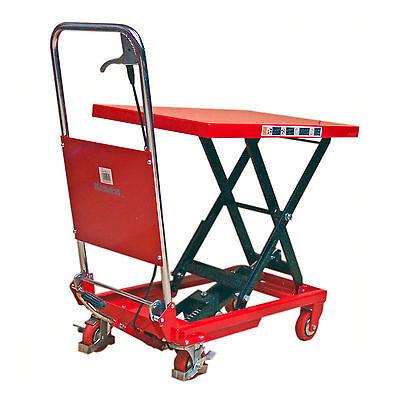 910458 Hubtischwagen 150kg Scherenhubtisch Plattformwagen Fahrbarer
