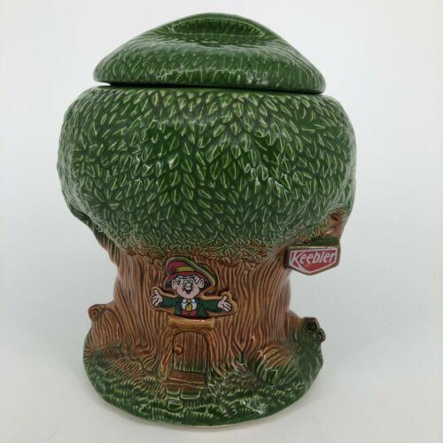 Vintage McCoy 1981 Keebler Cookies Ernie The Elf Tree Ceramic Cookie Jar