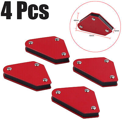 4pc Small Magnetic Weld Holders Right Angle Square Soldering Welding Magnet