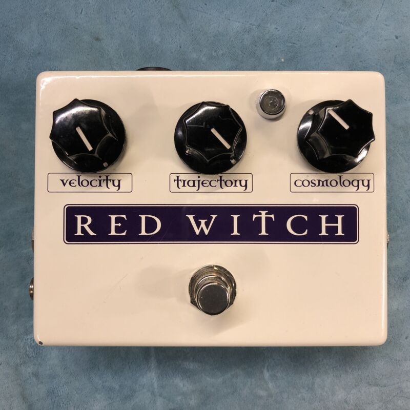 Red Witch Deluxe Moon Phaser / Tremolo Effects Pedal