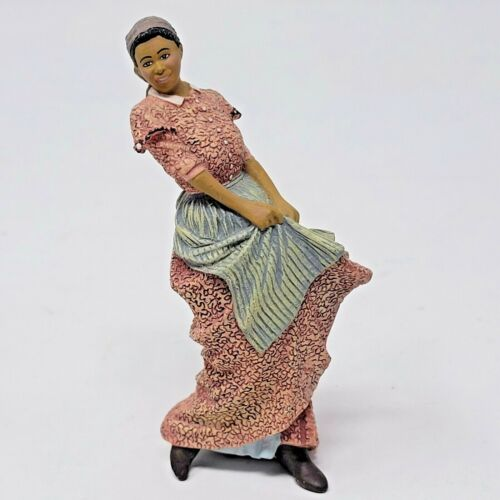 """RARE GONE WITH THE WIND, FRANKLIN MINT, PRISSY 3"""" Tall FIGURE 1990 Turner"""